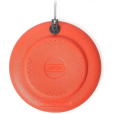 Dexas Off-Leash Frisbee Flyer - A toy plate with a carbine for dogs