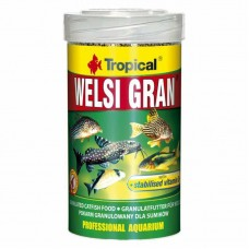 Tropical Welsi Gran - A dry feed in granules for ground aquarian fishes