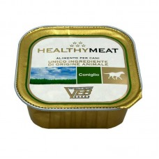 Healthy Meat - A tinned forage with rabbit flesh for dogs (paste)