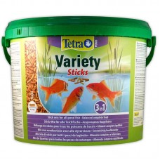 Tetra Pond Variety Sticks - A forage from three different types of sticks for all species of pond fishes