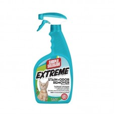 Simple Solution (Simpl Solution) Extreme Cat Stain & Odor Remover - The concentrated liquid means from a smell and spots of activity of animals