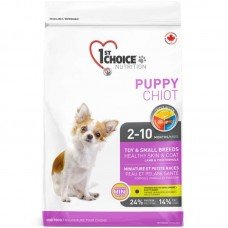 1st Choice (Fest Choys) Fish Pup Mini - A dry feed with a lamb and fish for puppies pass breeds