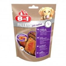 8in1 (8v1) Fillets Pro Active - Delicacy - chicken fillet for maintenance of activity of dogs