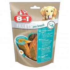 8in1 (8v1) Fillets Pro Breath - Delicacy - chicken fillet for dogs the refreshing breath