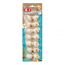 8in1 (8v1) Delights Pro Dental - The stones for toothbrushing with meat of chicken and minerals for dogs of small breeds refreshing breath