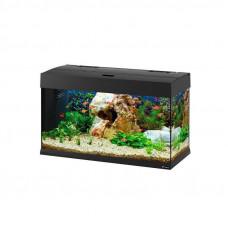 Ferplast of Dubai 80 LED (125 l) - A Steklyany aquarium of Dubai 80 with the LED lighting system and a set of the equipment
