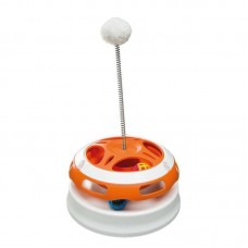 Ferplast of Vertigo is the Toy a roundabout with a ball on a spring for cats