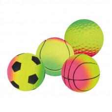 Trixie Ball rubber mix neon