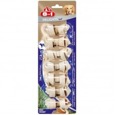 8in1 (8v1) Delights Bones Beef - A bone with beef meat for dogs of small breeds