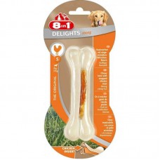 8in1 (8v1) Delights Bone Strong - A bone for toothbrushing with meat of chicken