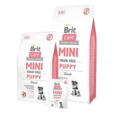 Brit Care (Care Is shaven) Mini Grain Free Puppy - Dry bezzernovy a forage with yagnyony for puppies of tiny breeds