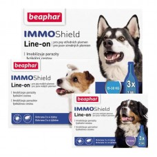 Beaphar IMMO Shield - Antiparasitic drops for dogs with dimetikony