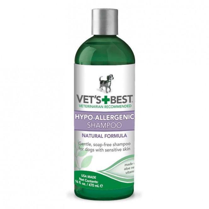 VET'S BEST (Vets Best) Hypo-Allergenic Shampoo - Hypoallergenic shampoo, for sensitive skin