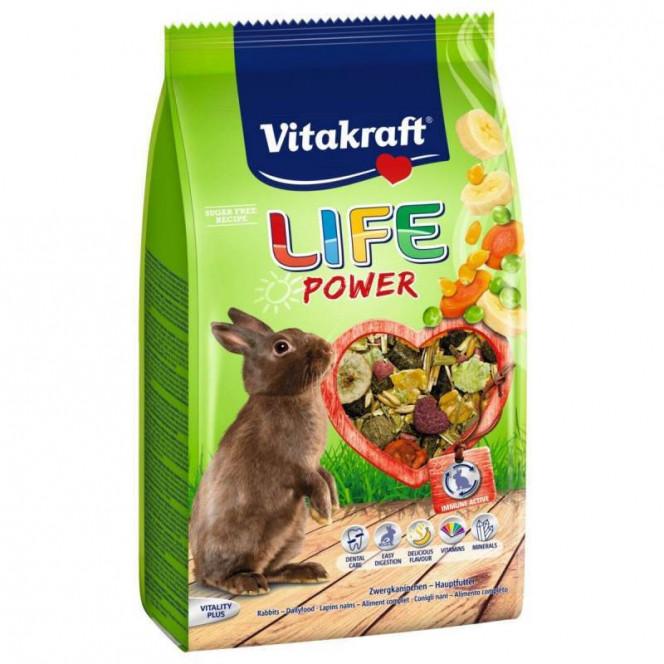 Vitakraft LIFE Power - A forage for rabbits with banana