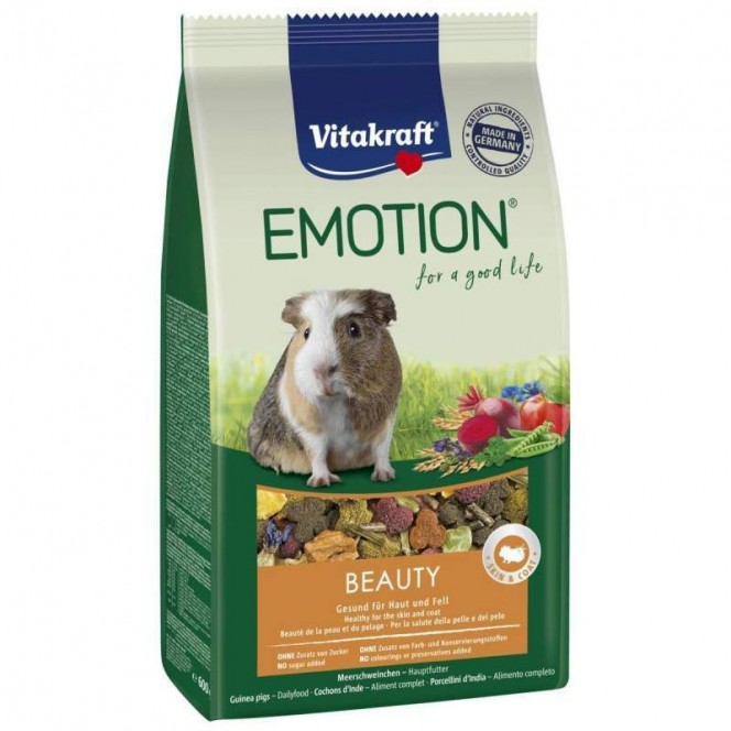 Vitakraft Emotion Beauty Selection-of Sterns balanced for guinea pigs