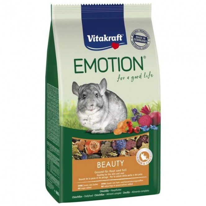 Vitakraft Emotion Beauty Selection - A forage for chinchillas