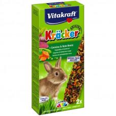Vitakraft Kracker Original + vegetables - Crackers for rabbits with vegetables