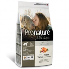 Pronature Holistic (Holistik Pronature) Adult All Breeds with Turkey & Cranberries - A dry feed with a turkey and a cranberry for adult dogs of all breeds