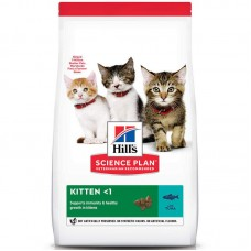 Hill's Science Plan Kitten Tuna - A dry feed with a tuna for kittens till 1 year