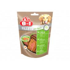 8in1 (8v1) Fillets Pro Digest - Delicacy - chicken fillet for improvement of digestion of dogs
