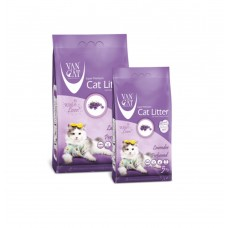 VanCat Cat Litter Lavender - Bentonite cat litter with aroma of a lavender