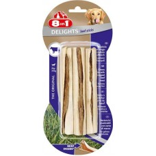 8in1 (8v1) Beef Delights Sticks - Sticks with Beef Treats for dogs