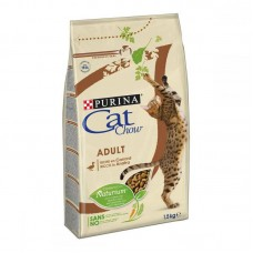 Cat Chow (Cat Chau) Adult Duck - A dry polnoratsionny feed with a duck for adult cats