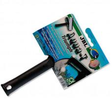 JBL (GBL) Aqua-T Triumph - A screen wiper for aquariums with an edge and a rubber scraper