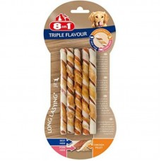 8in1 (8v1) Triple Flavour - Stick delicacy wattled for dogs