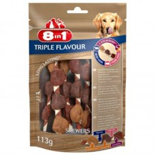 8in1 (8v1) Triple Flavour - Delicacy brochettes for dogs