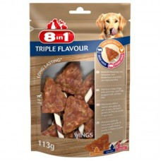 8in1 (8v1) Triple Flavour - Delicacy wings for dogs