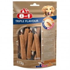 8in1 (8v1) Triple Flavour - Delicacy ribs for dogs