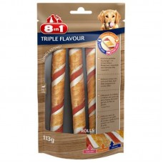 8in1 (8v1) Triple Flavour - Tubule delicacy for dogs