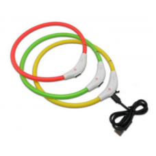 AnimAll (EnimAll) Collar LED - The shining collar for cats and dogs with a water-repellent covering