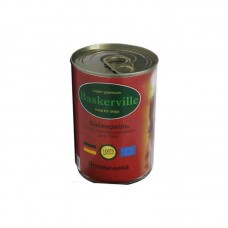 Canned food Baskerville for dogs with beef