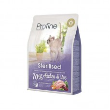 Profine (Professional Ainu) of Cat Sterilised - A dry full-fledged feed with chicken for the sterilized cats and cats