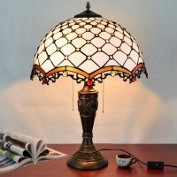 Tiffany Table Lamp,Bedside Lamp, Stained Glass Shade, Lamp Handmade,Bedside Lamp,Lamp sconced