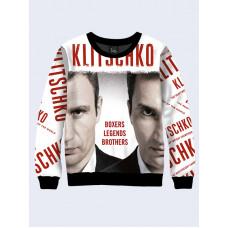 Mens 3D-print sweatshirt - Klitschko poster. Made in Ukraine.