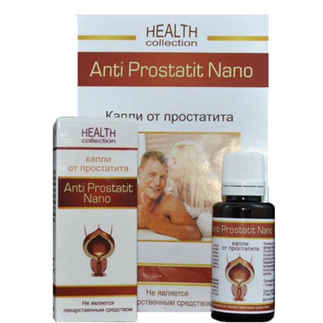 Anti Prostatit Nano - drops from prostatitis