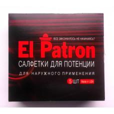 El Patron - napkins for potency