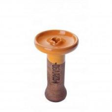 Bowl Cloud of Phunnel M Glaze top (Honey)