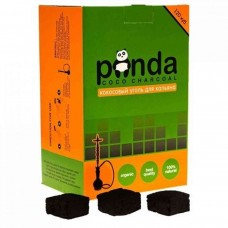 Coconut Panda coal of 1 kg. 120 pieces small cube