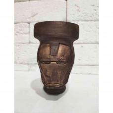 Bowl for a handmade hookah the Iron Man