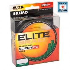 0.11 cord of Salmo Elite Braid 125m Green