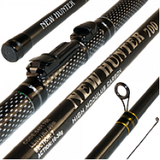 Fishing-rod of smoked Globe New Hunter of 6.00 m (2505080)