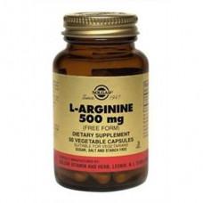 L-Arginine, 500 mg, Solgar, 50 Capsules, 27298