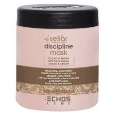 Smoothing mask for unruly hair, Selial discipline, Echosline, 1000 ml, 02292-1