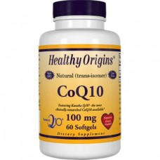 Coenzyme Q10, Healthy Origins, Kaneka Q10 (CoQ10 Gels), 100 mg, 60 Capsules, 14229