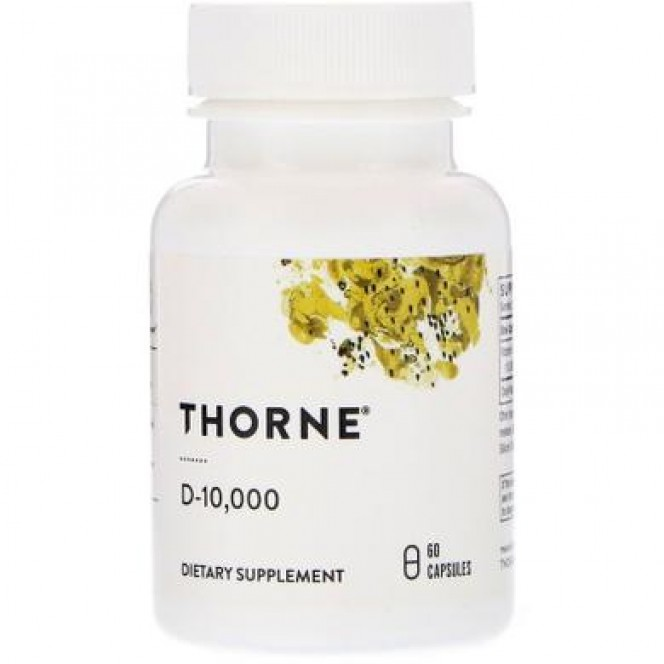 Vitamin D-10 000, Vitamin D, Thorne Research, 60 capsules 510, 14718 .. Discounts, promotions, 100% original products. Worldwide delivery, free shipping, peace, health, cosmetics, fitness