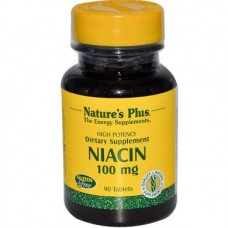 Niacin, 500 mg, 100 tablets, 21721